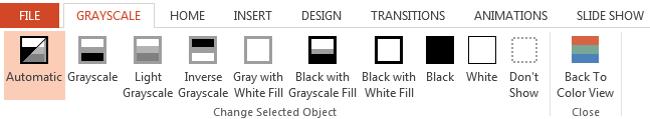 GrayScale Pane