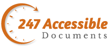 247 Accessible Documents – Accessible PDF, Accessible Word, PowerPoint & Excel.