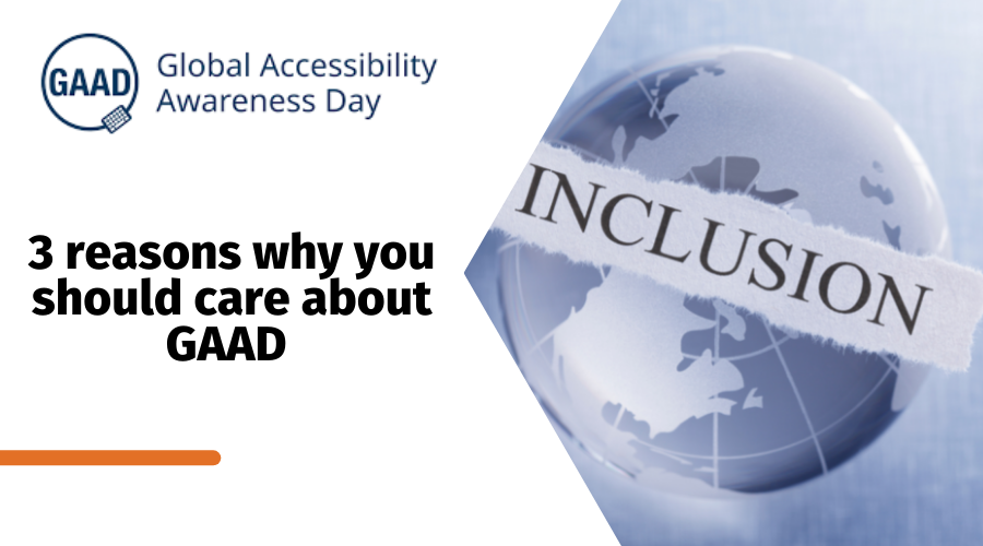 GAAD logo - Inclusion written on the image